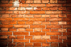 The old wall brick red Royalty Free Stock Images