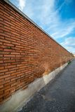 Buildings like abstract funds. An old wall of brick, suitable for textures and funds Stock Photo
