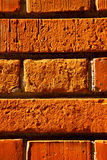 Old wall  brick in the    varese italy Stock Images