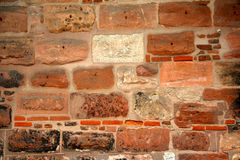 Old wall with bricks Stock Photography