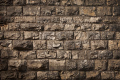 Old wall, built of different brick Royalty Free Stock Photos