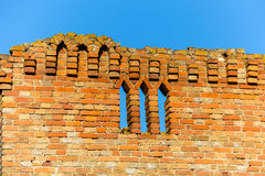 Old wall of castle Royalty Free Stock Images
