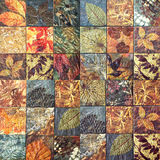 Old wall ceramic tiles patterns handcraft from thailand public. Old wall ceramic tiles patterns handcraft from thailand public Stock Images