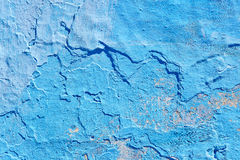 Old wall in Chefchaouen Stock Photography