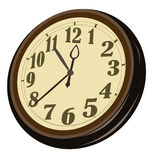 Old wall clock Stock Image