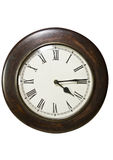 Old Wall Clock Royalty Free Stock Photo