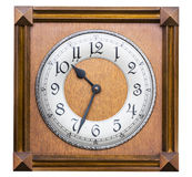 Old wall clock Royalty Free Stock Photos