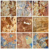 Old Wall. Collection Royalty Free Stock Photos