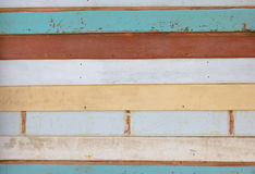 Old wall colorful wood background Stock Photo