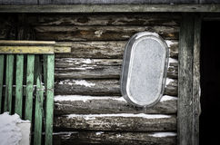 Old wall of country house Stock Photos