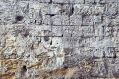 Old wall cracked concrete vintage texture. Outdoor background Royalty Free Stock Photography
