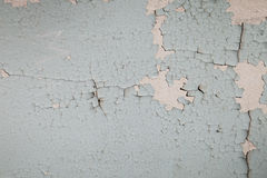 Old wall with cracked paint Royalty Free Stock Images