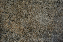 Old wall with cracked plaster Royalty Free Stock Photo