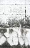 Old wall with cracks background Royalty Free Stock Photos