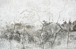 Old wall with cracks background Stock Photography