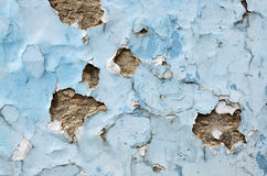 Old wall with cracks Stock Photos