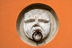 Old wall decoration in Potenza. Basilicata. Italy Royalty Free Stock Images