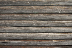 Old wall. Detail of old wood paneling Stock Photos