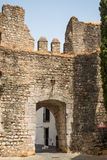 Old Wall entrance of the Castle in Serpa Royalty Free Stock Image