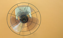 Old wall fan without grille Royalty Free Stock Photos