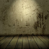 Old wall and floor Royalty Free Stock Photos