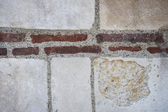 Old wall fragment Royalty Free Stock Photos