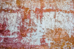 Old wall grunge textures. Backgrounds with cracks and peeling paint stock photo