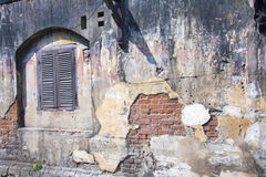 Old wall, Hoi An Stock Photos