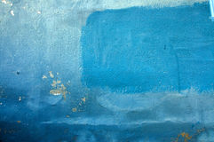 Free Old Wall In Different Shades Of Blue Royalty Free Stock Images - 4960769