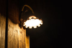 Old Wall Lamp Royalty Free Stock Photography
