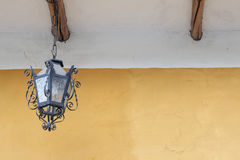 Old wall lamp royalty free stock images
