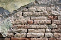 Old wall made of bricks Royalty Free Stock Photos