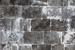 Old wall made of light stones Royalty Free Stock Image