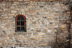 Old Wall Made Of The Jerusalem Stone Royalty Free Stock Photography