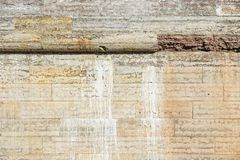 Old wall from a natural stone Royalty Free Stock Image