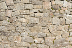 Old wall with natural stones. Old house wall with natural stones. in the mountains Royalty Free Stock Images
