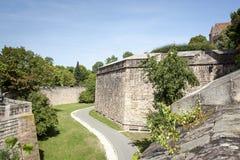 Old wall Nuremberg Stock Photo