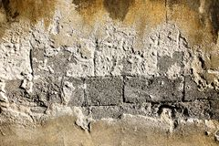 Old Wall. Tecture and abstract background Royalty Free Stock Photo
