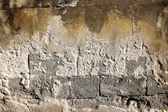 Old Wall. Tecture and abstract background Stock Images