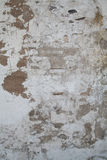 Old Wall with Paint and Clay Peeling Off Royalty Free Stock Photography