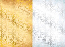 Old wall papers Royalty Free Stock Image