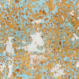 Old wall with peeling paint - seamless texture Stock Image