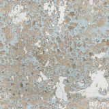 Old wall with peeling paint - seamless texture Royalty Free Stock Images