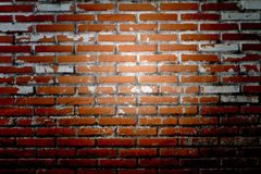Old Wall from a red brick Stock Image