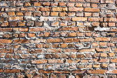 Old wall from red brick Stock Photos