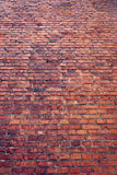 Old wall of red brick. Stock Images