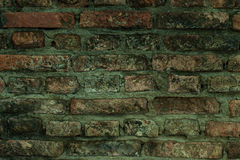Old wall of red briks, background Royalty Free Stock Images