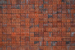 Old wall and red tile Stock Photography