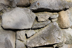 Old wall rock texture Stock Images