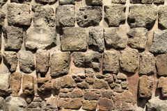 Old wall in Rome Stock Photography